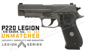 SIG Sauer P220 Legion 45ACP, Double or Single Action #220R45LEGION
