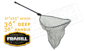 "Frabill Pro-Formance Scooper Net, 21""x25"" Scooper #5400"
