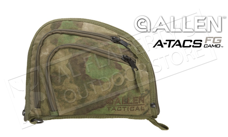 "Allen Auto-Fit 9"" Handgun Soft Case in A-TACS FG Camo #7612"