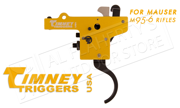 Timney Triggers Mauser 95-6 Featherweight Deluxe Trigger, Adjustable 1.5-4 lbs. #303