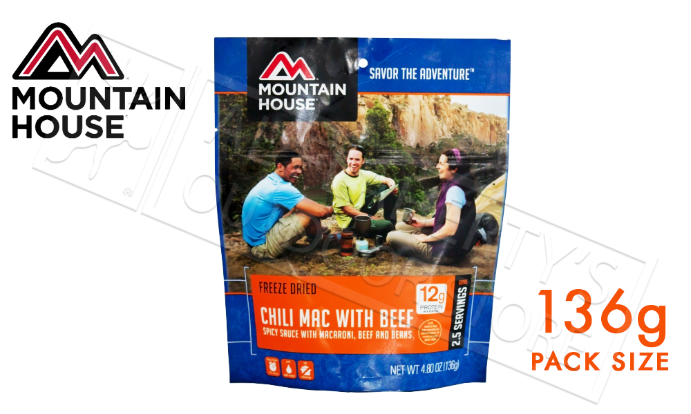 Mountain House Pack of Chili Mac with Beef 136g #53128122