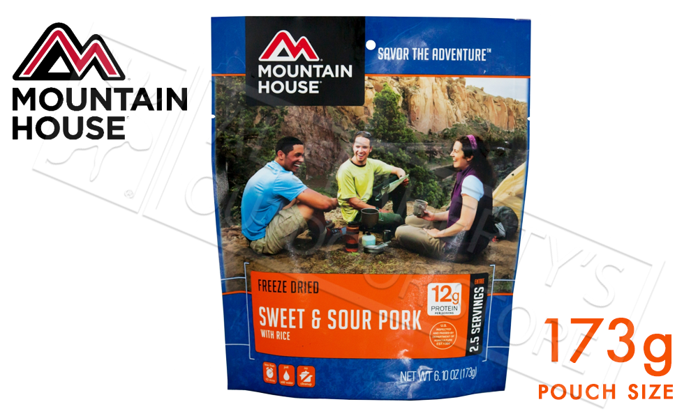 Mountain House Pouch of Sweet and Sour Pork with Rice 173g #53134122