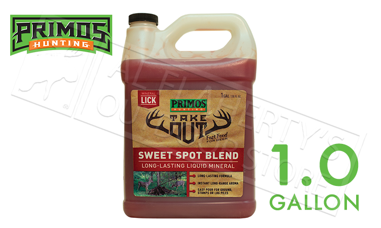 Primos Take Out Mineral Lick, Sweet Spot Blend 1 Gallon Jug #58733