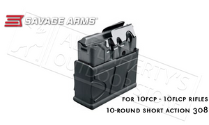 Savage Arms Magazine for Model 10FCP and 10FLCP Rifles in 308 - 10 Round #55185