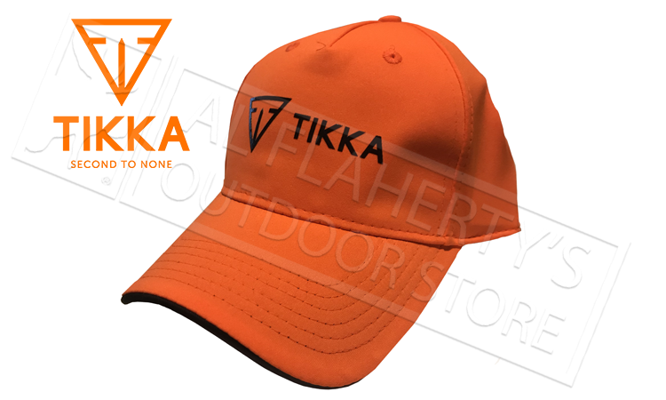 Tikka Blaze Orange Baseball Cap #SC208583