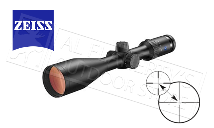Zeiss Conquest V4 Rifle Scope 3-12x56mm with #20 Z-Plex Reticle #5229219920000