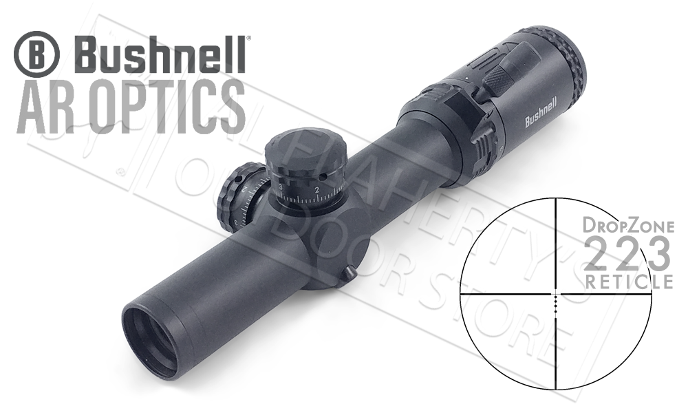 Bushnell AR Optics 1-4x24 Scope with DZ-223 Reticle #AR71424