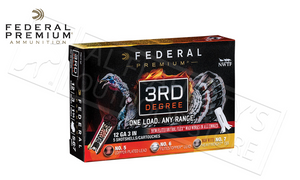 "12 Gauge - Federal 3rd Degree Turkey Shells, 3"" 1-3/4 oz. Load Mixed 4/5/6 Shot #PTDX157567"