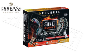 "12 Gauge - Federal 3rd Degree Turkey Shells, 3.5"" 1-3/4 oz. Load Mixed 4/5/6 Shot #PTDX139567"