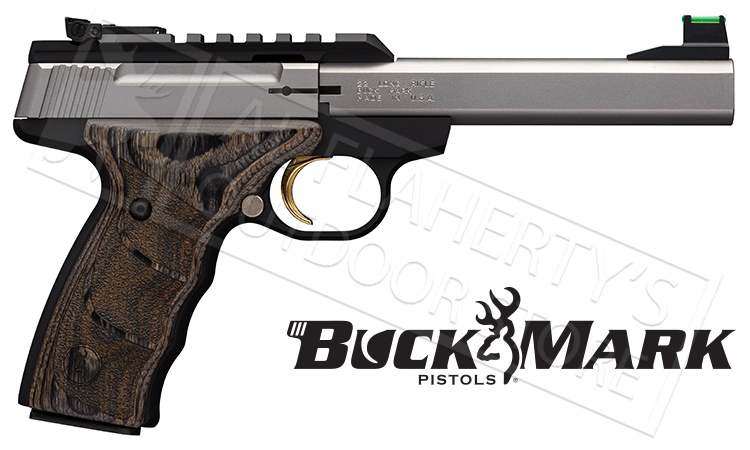 "Browning Buck Mark Plus Practical UDX Target Pistol, 5-1/2"" Barrel 22LR #051531490"