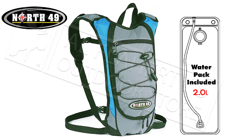 North 49 Oasis Hydration Pack with 2 Liter Hydra Sack #2550