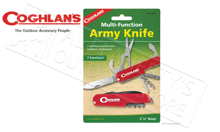 Coghlan's Army Knife, 7 Function #9507