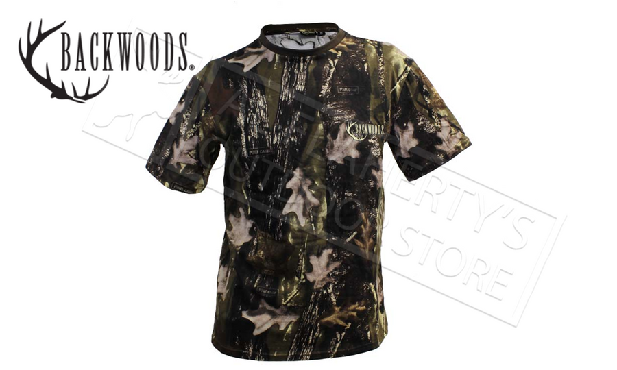Backwoods Camo T-Shirts, Sizes M-3XL #TC100