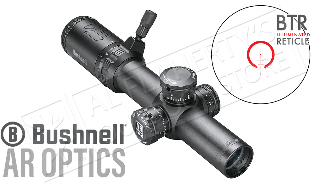 Bushnell AR Optics 1-4x24 Scope, FFP with BTR-2 Reticle #AR71424i