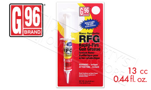 G96 Rapid Fire Gun Grease, 0.44 fl. oz. Syringe #1043