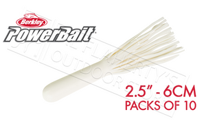 "Berkley PowerBait Power Tubes, 2.5"" Packs of 10 #PBBPT25"