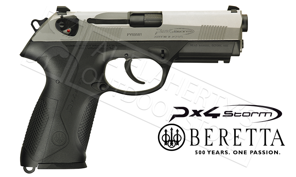 Beretta PX4 Inox 9mm Full Sized Pistol