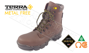 "Terra Turner Gore-Tex 8"" Safety Boot, Sizes 7-13 #103022DW"