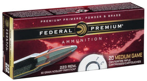 Federal Premium Nosler Partition 30-30 #P3030D