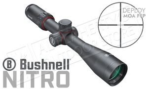 Bushnell Nitro Riflescope 4-16x44mm with Deploy MOA FFP Reticle #RN4164BF1