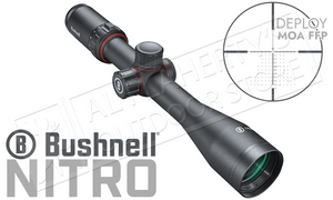 Bushnell Nitro Riflescope 5-20x44mm with Deploy MOA FFP Reticle #RN5204BF1