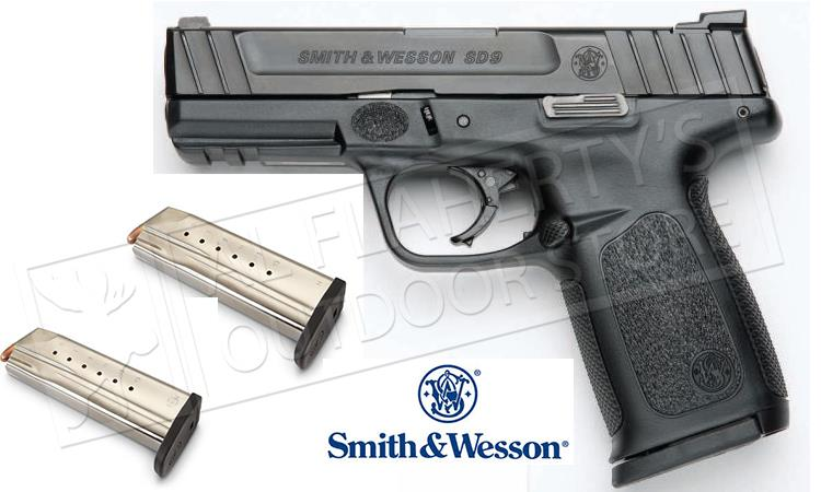 Smith & Wesson SD9 Semi Auto Pistol 9MM, 4.25 #12002