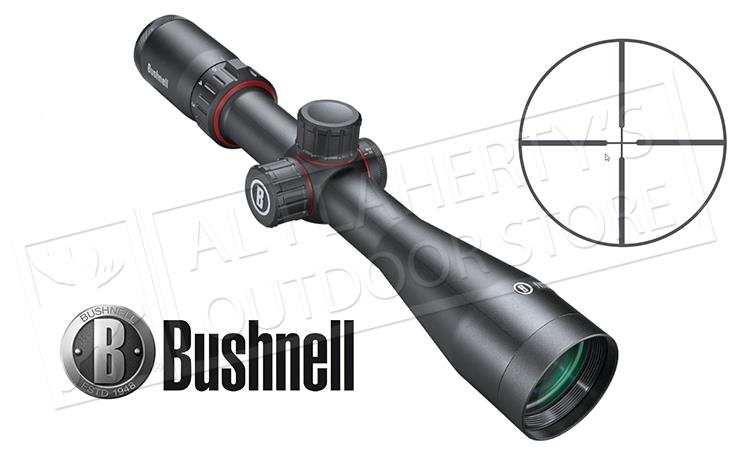BUSHNELL NITRO RIFLESCOPE 3-12X44MM WITH MULTI-X SFP #RN3124BS3