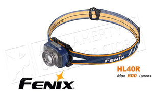 Fenix Headlamp 600 Lumens HL40 Grey
