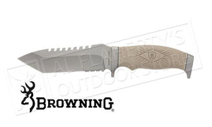 Browning Brego Tactical Knife With Sheath #320205BL