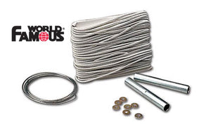 World Famous 10-Piece Tent Shock Cord Repair Kit #414