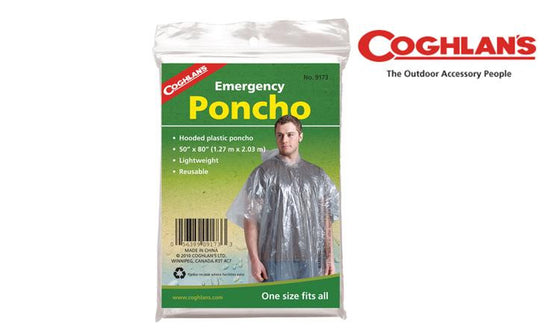 Coghlan's Emergency Poncho, One Size Fits All #9173