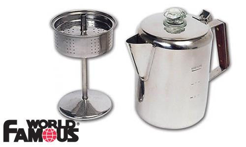 World Famous Stainless Coffee Percolator #749