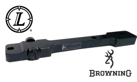 Leupold STD Scope Base - One Piece, Gloss Black, for Browning BAR, All Calibers #49985