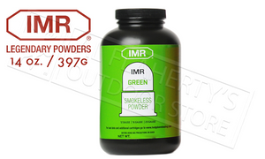 <b>(Store Pickup Only)</b><br>IMR Powder Co Green Smokeless Powder, 14 oz. Bottle