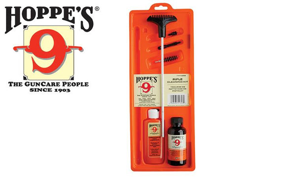 Hoppe's Cleaning Kit for Rifles, .22 to .225 Caliber #U22BCN