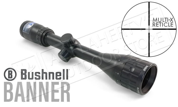 Bushnell Banner Scope 4-12x40mm with Multi-X Reticle #614124