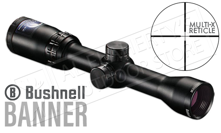 Bushnell Banner Dusk & Dawn Scope, 1.5-4.5x32mm w/Multi-X Reticle #611546