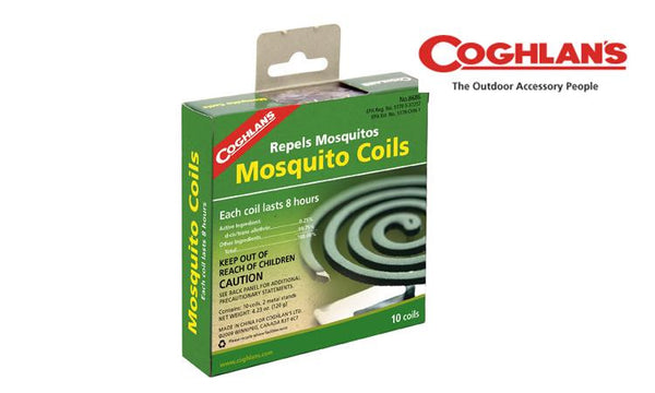 Coghlan's Mosquito Coils, Pack of 10 #8686