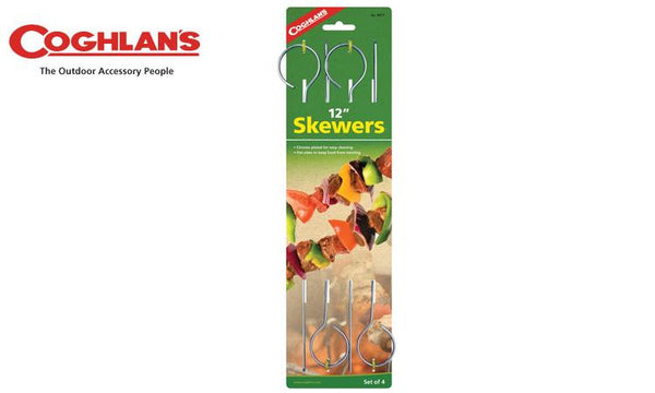 "Coghlans Skewers, Pack of 4, 12"" #8977"