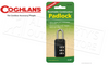 Coghlan's Travel Combination Padlock, Resettable #9255