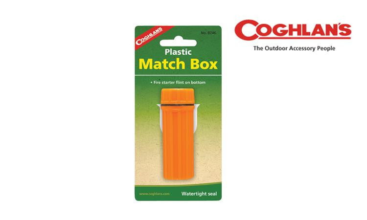 Coghlan's Plastic Match Box, Waterproof with Striker #8746