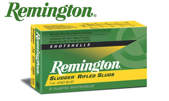 "Remington Slugger Rifled Slugs, 12 Gauge 2-3/4"", Box of 5 #SP12RS"