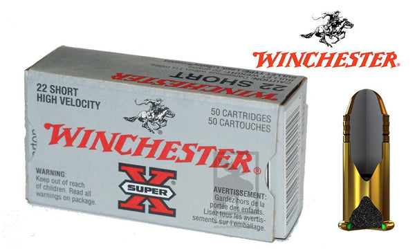 Winchester Super-X .22 Short 29grain #X22S