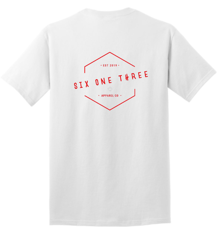 White Six One Three T-shirt