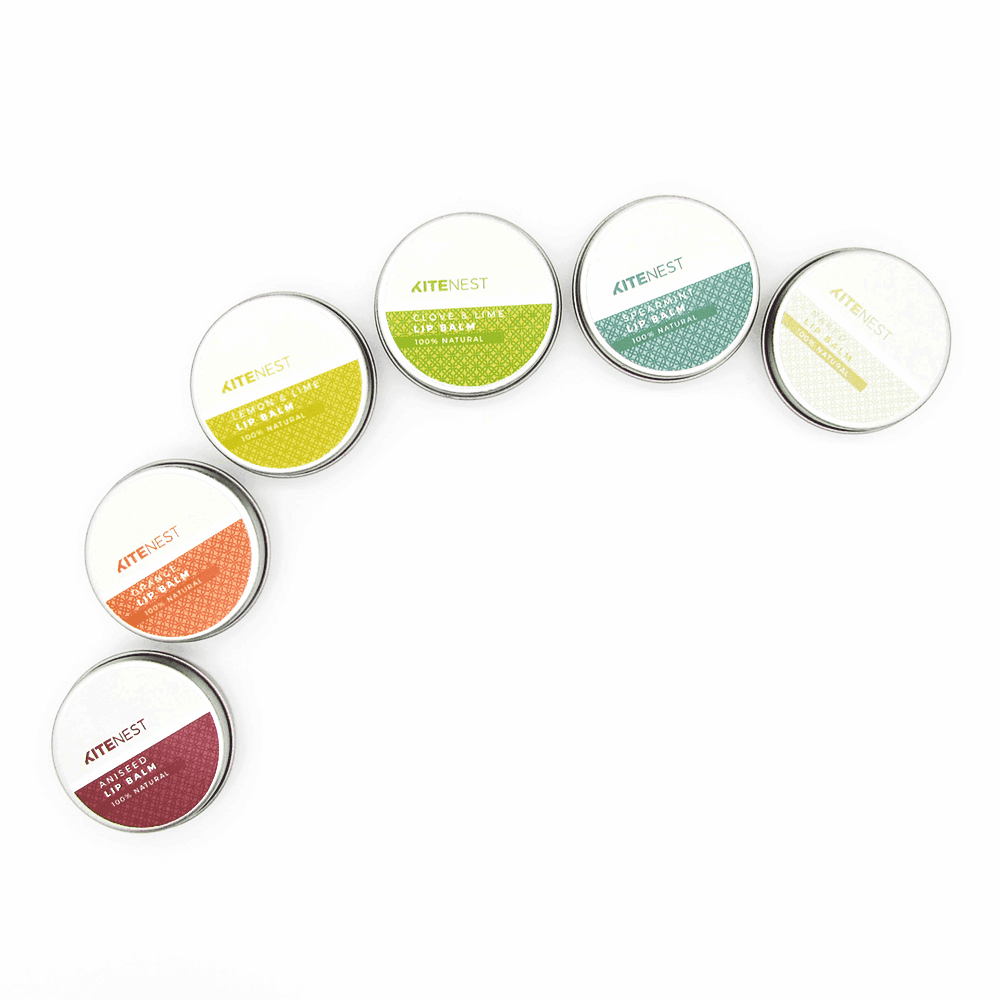 Lip Balm Rainbow Pack