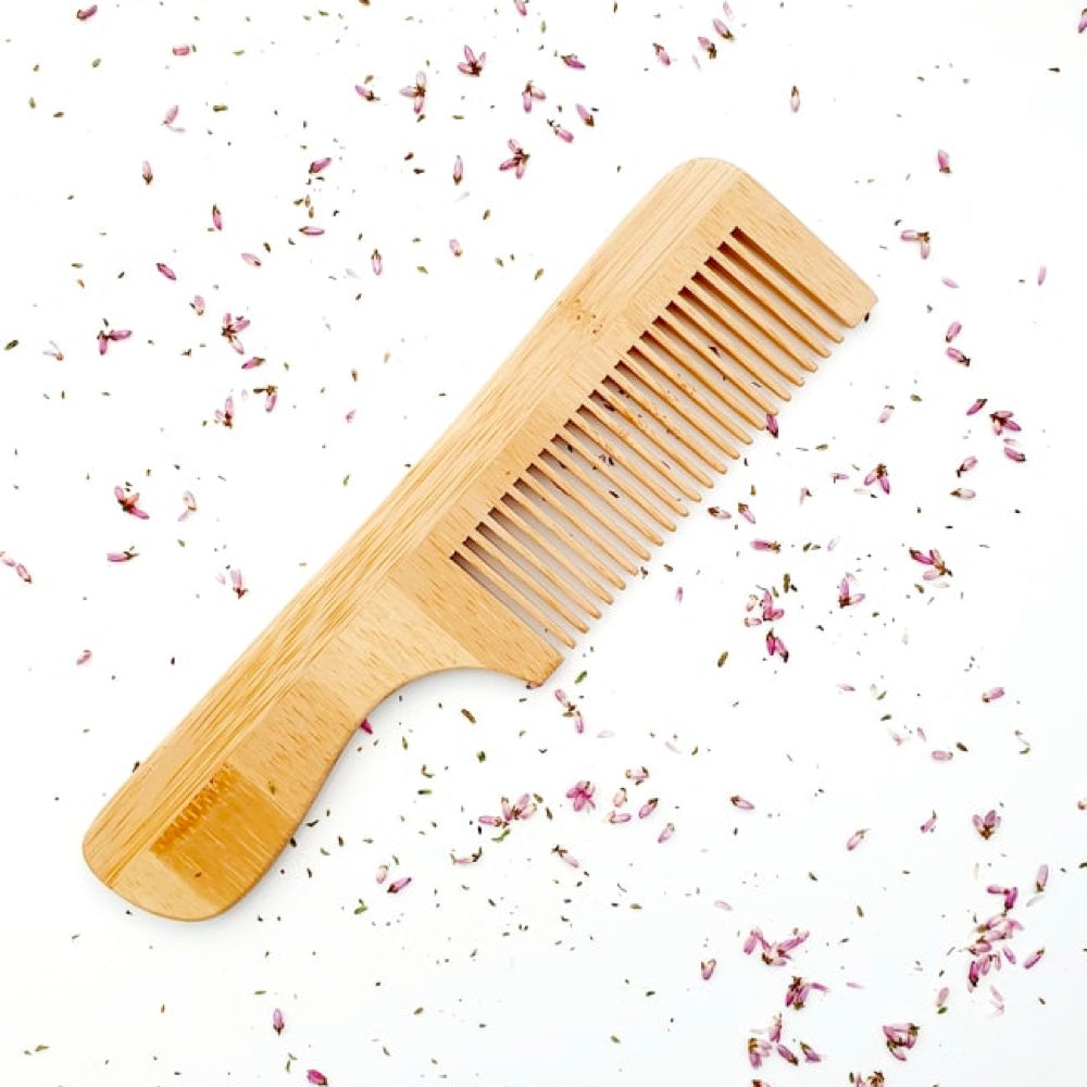 Bamboo Comb (Long Handle)