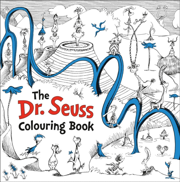 Dr. Seuss Colouring Book-9780008216597