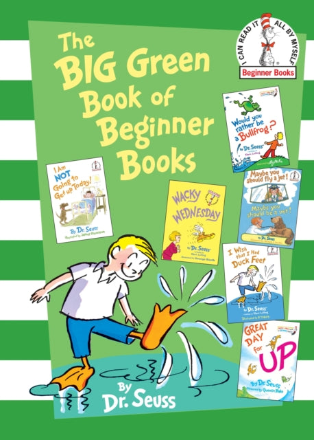 Big Green Book of Beginner Books-9780375858079