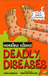 Horrible Science: Deadly Diseases-9780439944465