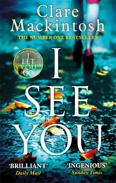 I See You : The addictive Number One Sunday Times Bestseller-9780751554144